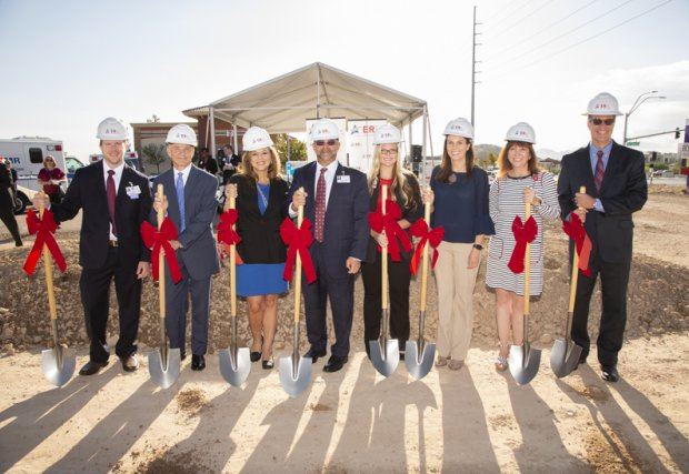 ER at Blue Diamond Holds Ceremonial Groundbreaking