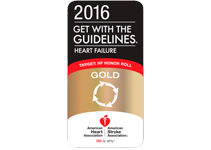 American Heart Association Get with the Guidelines Heart Failure Gold Award