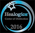 Advanced Wound Care Center Award from Healogics