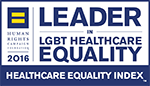 Leader In LGBT Healthcare Equality Logo