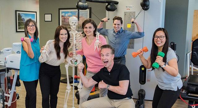 Grupo de terapia para pacientes ambulatorios en Spring Valley Hospital