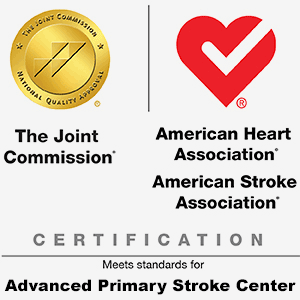 The Joint Commission's Gold Seal of Approval® and the American Heart Association®/American Stroke Association® Heart-Check Mark for Advanced Primary Stroke Certification (2020)